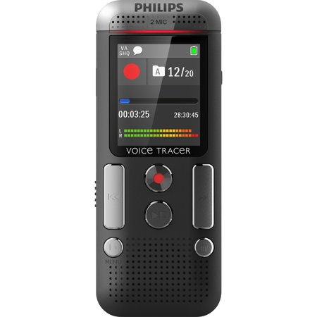 Philips Voice Tracer DVT2500 4GB Digital Voice Recorder DVT2500/00
