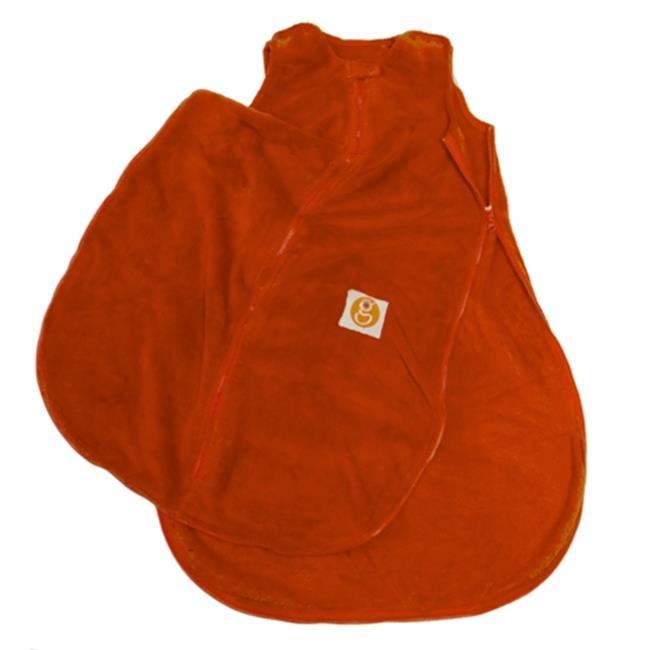 Gunamuna Gunapod Wonderzip Wearable Blanket Plush Fleece - Carrot, Small