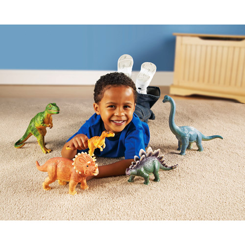 Learning Resources Jumbo Dinosaurs by LEARNING RESOURCES