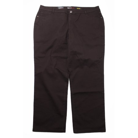 9f4ec7feb14 Style Co Plus Size Petites Truffle Jeans Tummy Control Slim-Leg Jeans 20WP  - Walmart.com