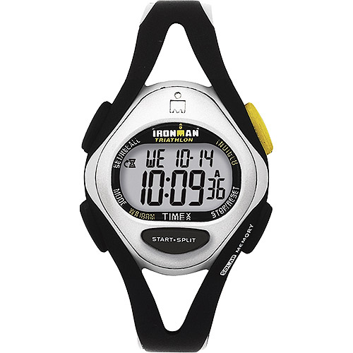 Timex Women's Ironman 50-Lap Watch, Black Resin Strap