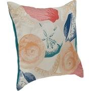 """Better Homes & Gardens 18"""" x 18"""" Decorative Shell Cluster Toss Pillow"""