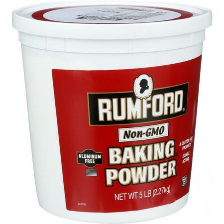 Rumford Baking Powder, Aluminum Free, 80 Oz