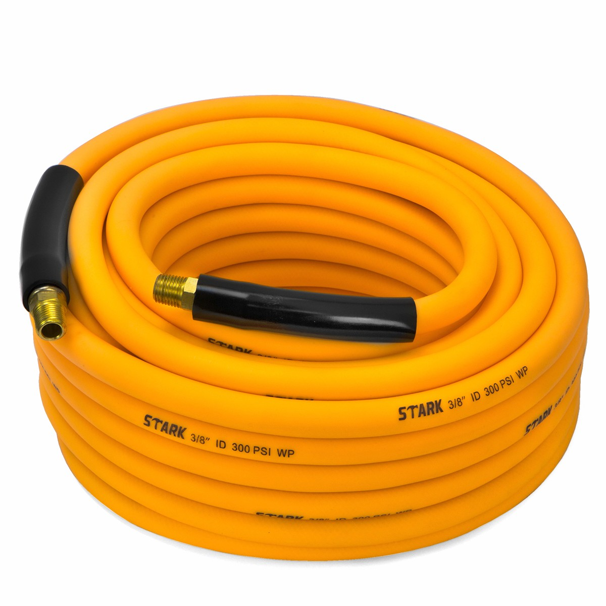 "3/8"" 25' Hybrid Orange Air Hose"