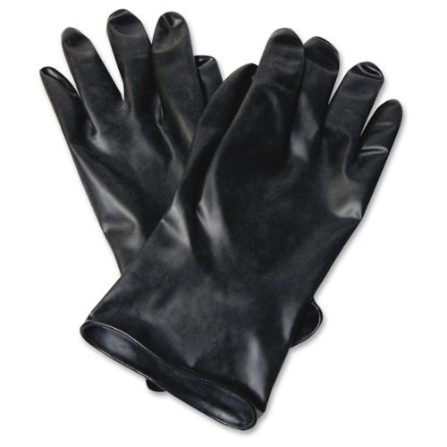 Honeywell Butyl Chemical Protection Gloves - Water Resistant, Durable, Chemical Resistant, Ketone Resistant, Rolled Beaded Cuff, Comfortable, Abrasion Resistant, Cut Resistant, Tear Resistant, (b1318)