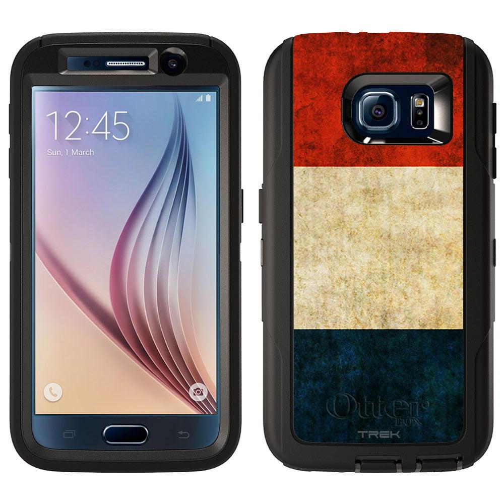 Skin Decal for Otterbox Defender Samsung Galaxy S6 Case Vintage Dutch Flag by Trek Media Group