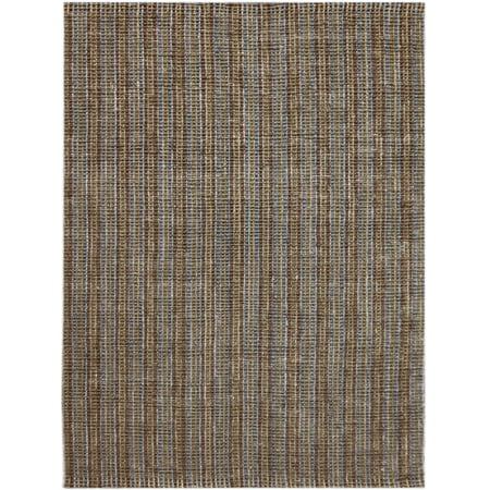 Tropics Brown 5 ft. x 8 ft. Rectangle Area (Brown Rectangle)