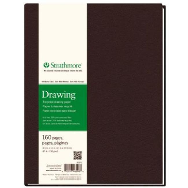 Strathmore ST465-8 400 Series 8.5'' x 11'' cousu dessin recycl- Bound Art Journal - image 1 de 1