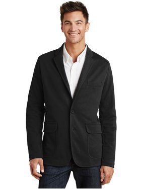 Port Authority Men's Knit blazers-and-sports-jackets