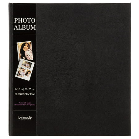 Kolo Newport Photo Album (Pinnacle Magnetic Black Photo Album, Holds 80 - 4