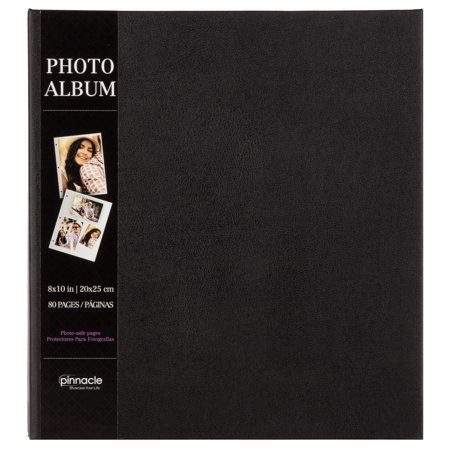 Pinnacle Magnetic Black Photo Album, Holds 80 - 4