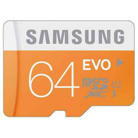 Samsung Evo 64GB High Speed MicroSD Memory Card Micro-SDXC Compatible With Microsoft Surface Go (10