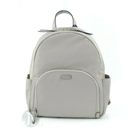 BRAND NEW WOMEN'S KATE SPADE NEW YORK (WKRU5919) DAWN LARGE NYLON BACKPACK BAG (Soft Taupe) (Kate Spade Baby Backpack)