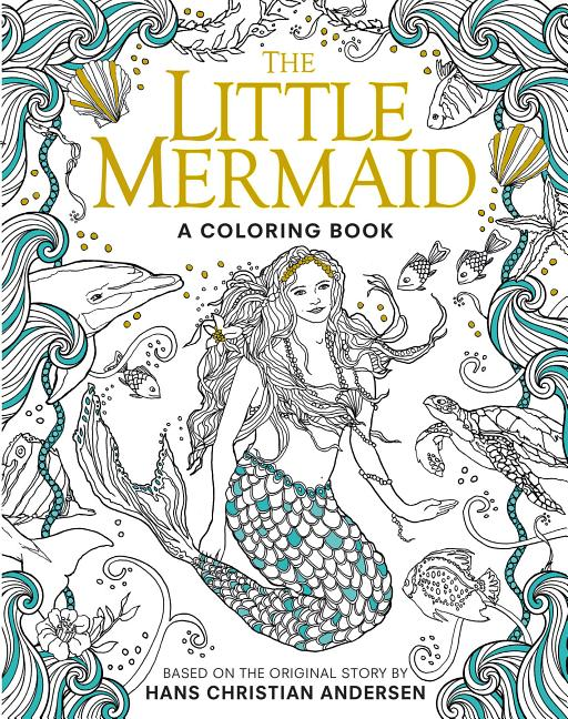 - Classic Coloring Book: The Little Mermaid: A Coloring Book (Paperback) -  Walmart.com - Walmart.com