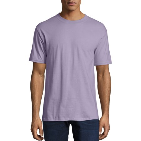 Hanes Men's Beefy-T Crew Neck Short Sleeve T-Shirt, up to 6xl ()