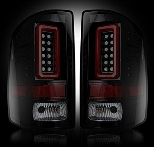 GMC Sierra 14-15 (3rd GEN) LED TAIL LIGHTS - Smoked Lens