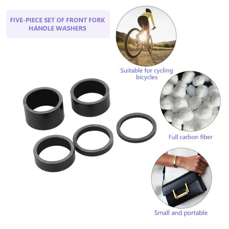Bicycle Bike MTB Carbon Fiber Washers Headset Spacer 3mm 5mm 10mm 15mm 20mm - image 7 de 7