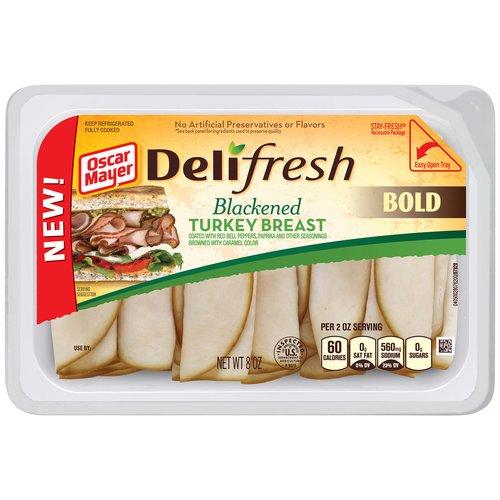 Oscar Mayer Deli Fresh Blackened Turkey Breast, 8 oz
