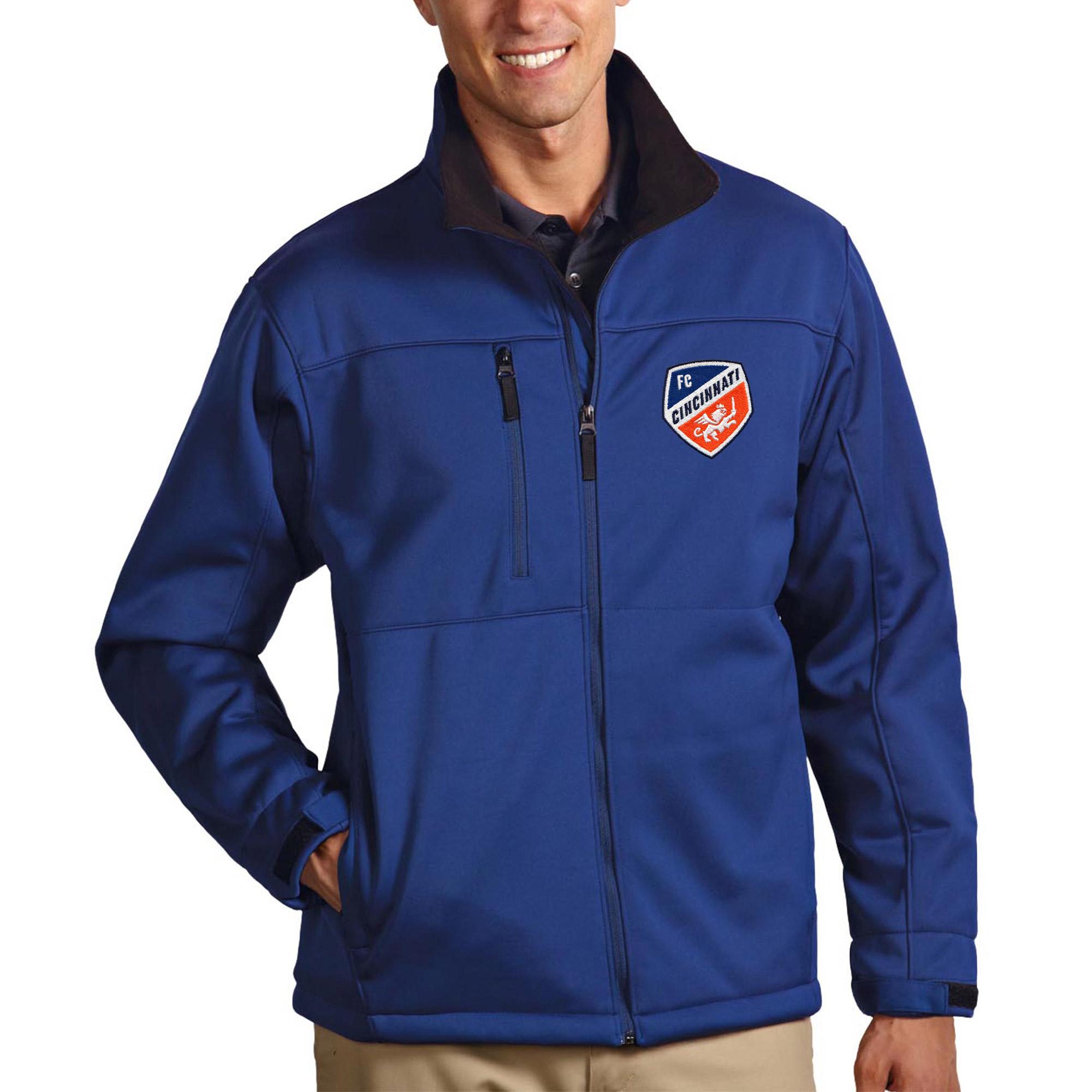 FC Cincinnati Antigua Traverse Full-Zip Jacket - Royal
