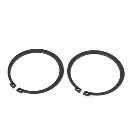 - 2 Pcs Round Shaped Exterior External Snap Circlip Retaining Rings