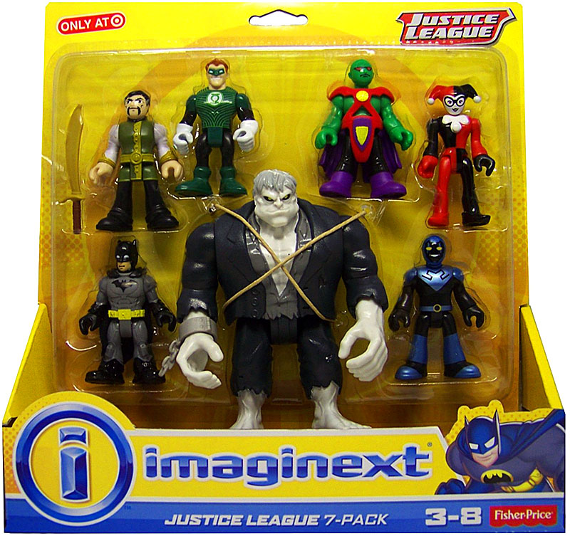 DC Imaginext Justice League 7-Pack Mini Figure Set [Solomon Grundy]