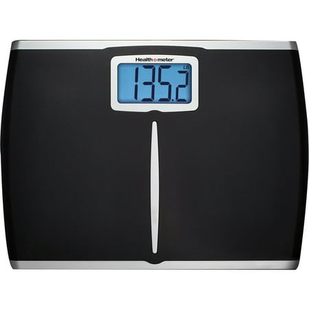 - Health o meter Extra-Wide Digital Scale, Black, HDM459DQ-05