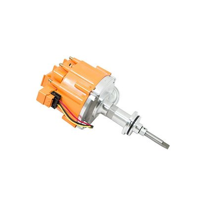 TSP HEI DISTRIBUTOR - Chrysler/Dodge MOPAR 318 340 360 SB V8 Orange JM6513OR