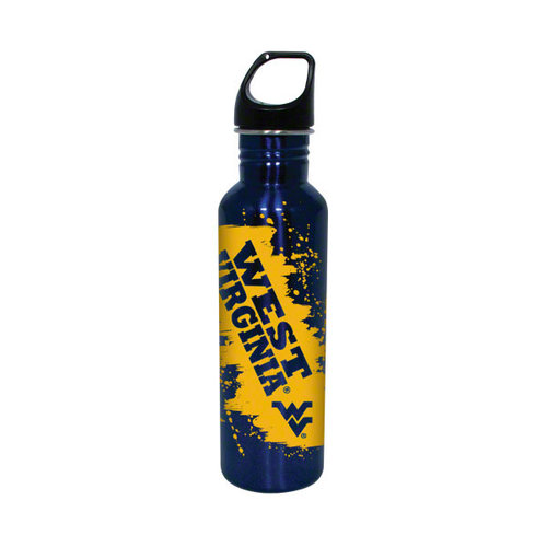 NCAA - West Virginia Mountaineers Stainless Steel Water Bottle