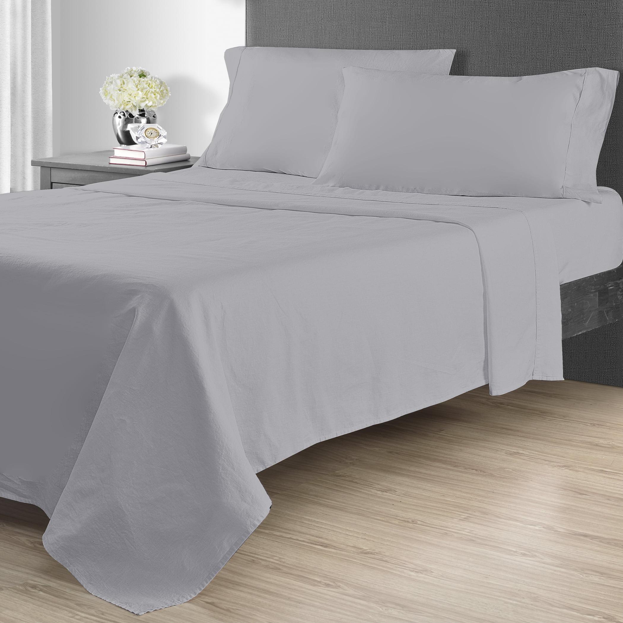 Better Homes & Gardens 4pc Linen Blend Sheet Sets