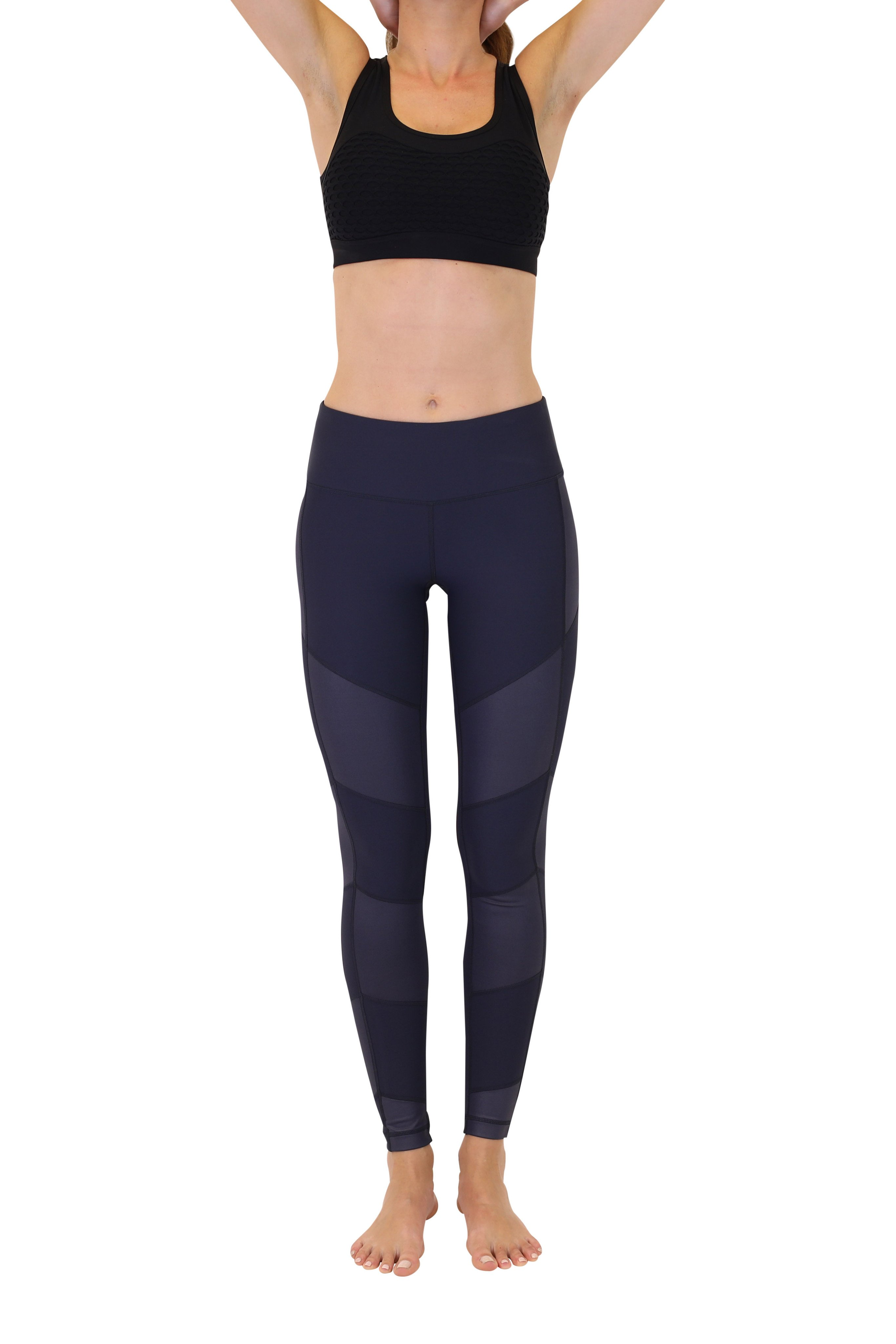 90 Degree By Reflex - High Shine Contrast Leggings