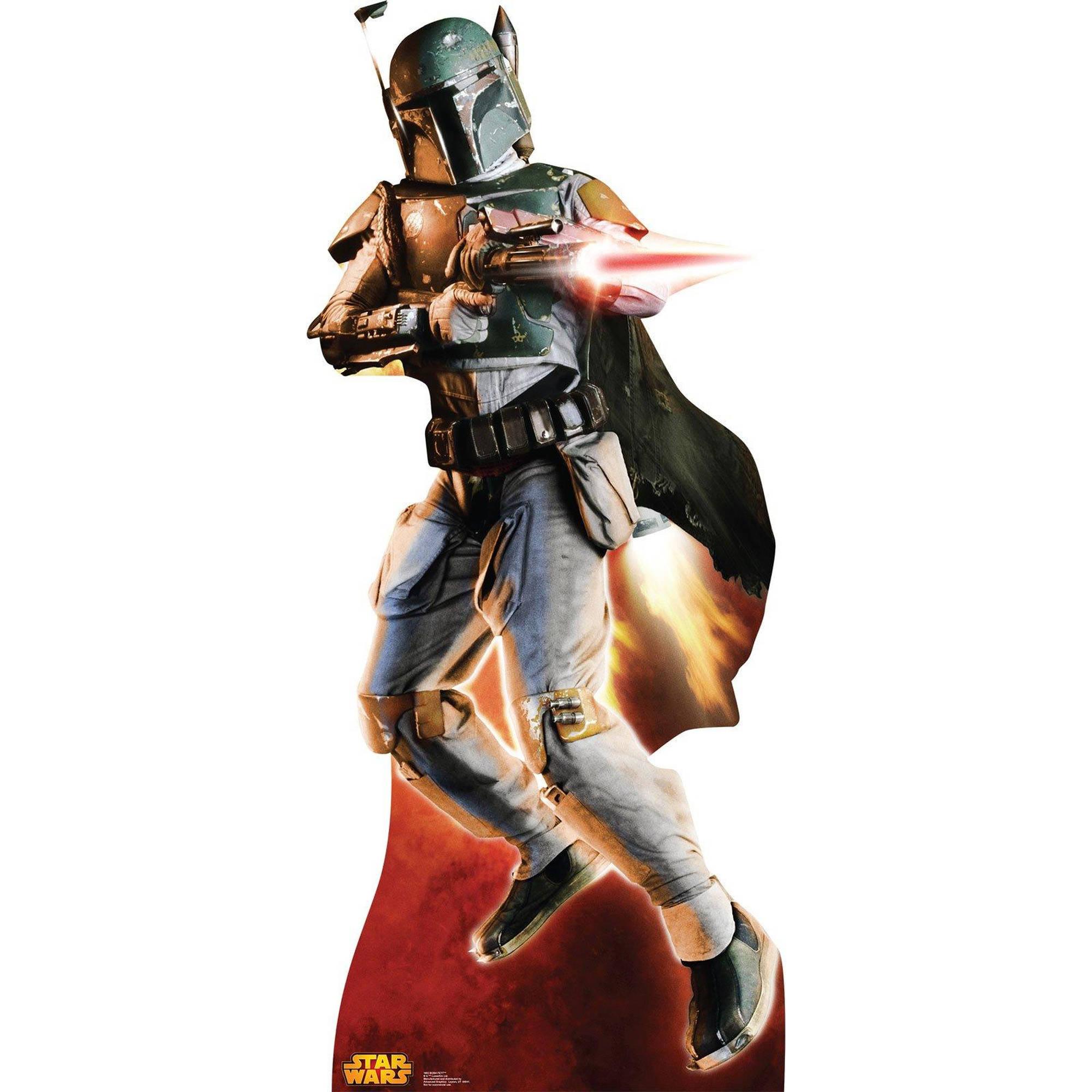 Star Wars Boba Fett Stand Up, 6' Tall