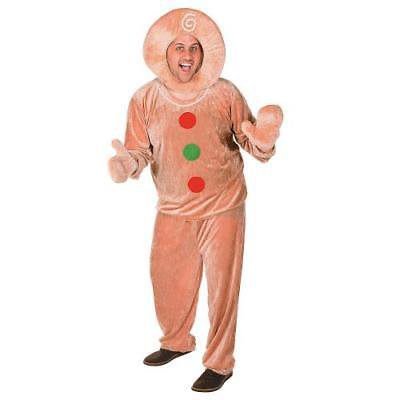 Men's Gingerbread Costume By Fun Express