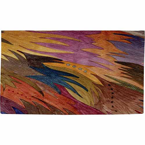 "Thumbprintz Autumn Flight Rug, 22.5"" x 37"""