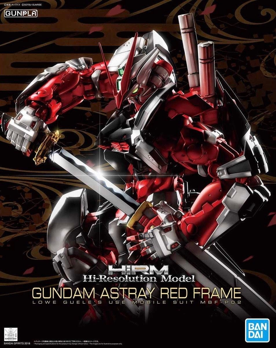 Bandai Hi-Res Hi-Resolution Gundam Astray Red Frame 1 100 Model Kit by Bandai Hobby