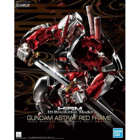 Bandai Hi-Res Hi-Resolution Gundam Astray Red Frame 1/100 Model