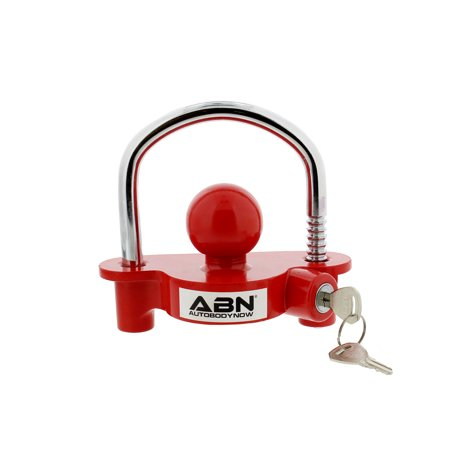 ABN Universal Trailer Hitch Adjustable Lock for 1-7/8 to 2-7/8 Couplers