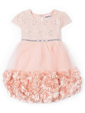 907454dfc2 Product Image 3D Floral Occasion Dress (Little Girls)