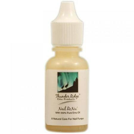 Thunder Ridge Emu Products Nail Renu  With 100  Pure Emu Oil   0 5 Oz