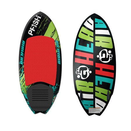 Airhead Pfish Beginner to Advanced 2 Fin Skim Style Water Wakesurf WakeBoard