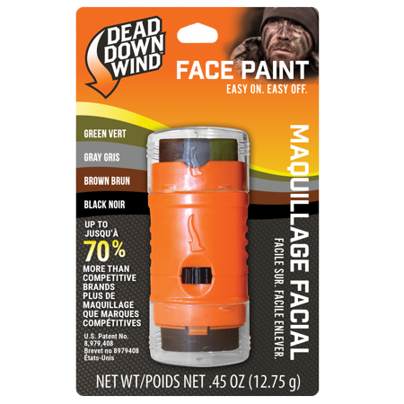 Dead Down Wind Ambush 4-Color Face Paint](Football Face Paint)