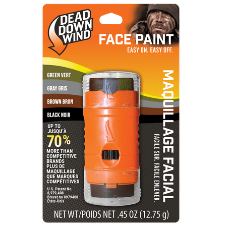 Dead Down Wind Ambush 4-Color Face Paint - Face Paint Hypoallergenic