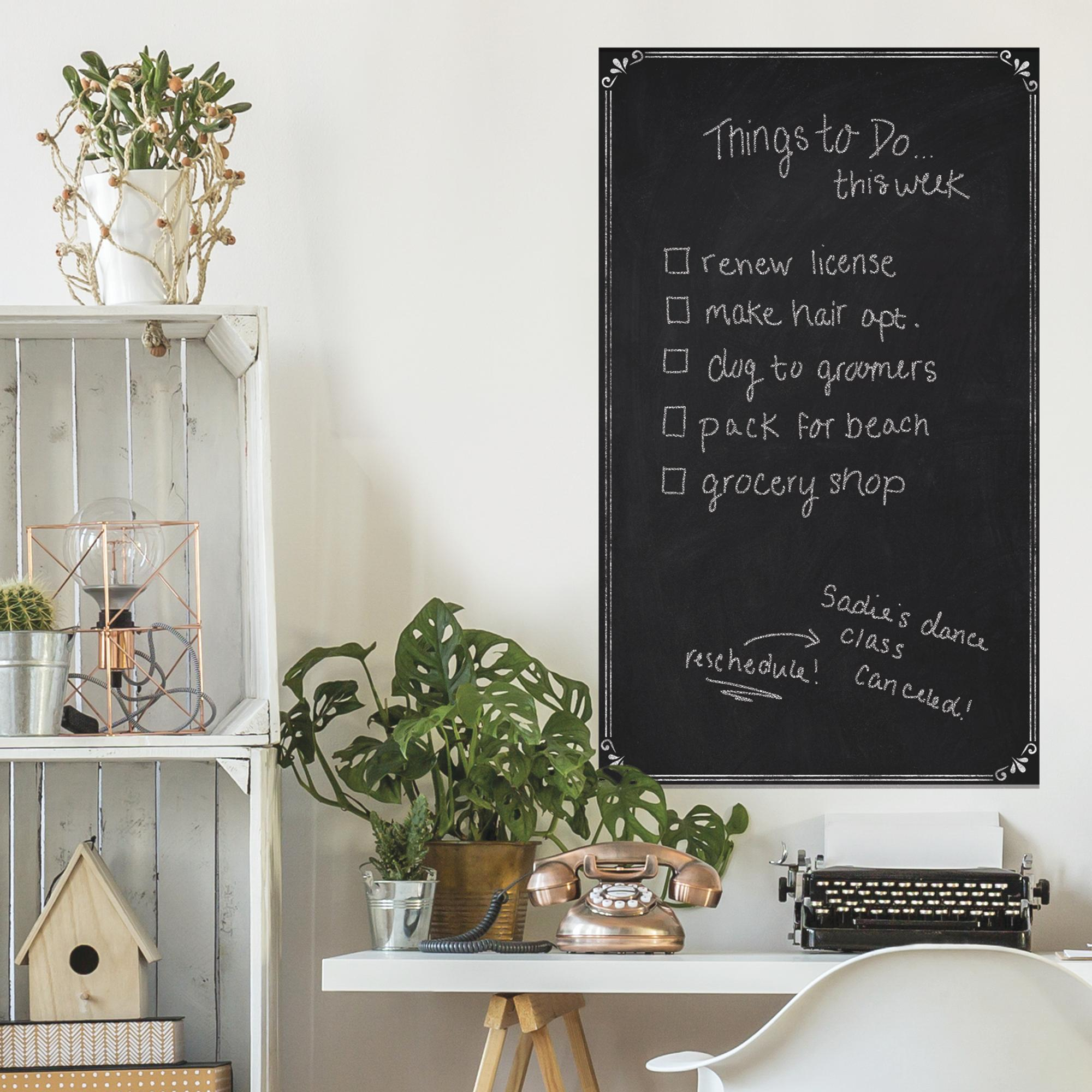 RoomMates Chalkboard Peel & Stick Wallpaper