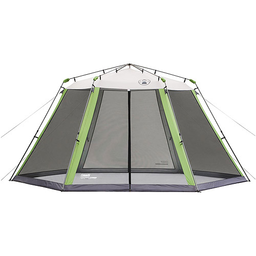 Coleman 15' x 13' Straight Leg Instant Screened Shelter (195 sq. ft Coverage) by COLEMAN
