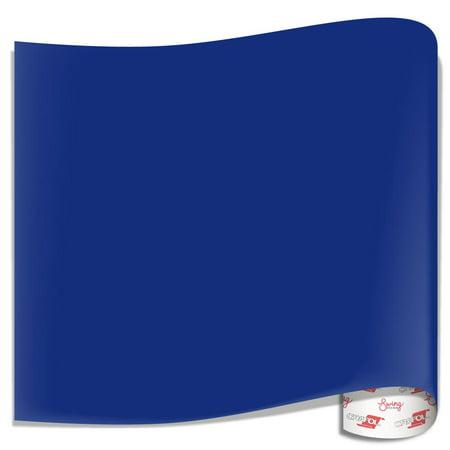 Oracal 751 Glossy Vinyl Sheets - King Blue - Walmart com