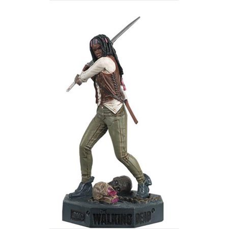 Michonne - The Walking Dead TV Series 2010-Current Cast in Metallic Resin Hand-Painted Figurine, 14 Years -