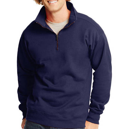 Hanes Men's Nano Premium Soft Lightweight Fleece Jacket - Walmart.com