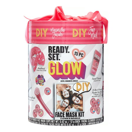 Onyx Professional Ready. Set. Glow. DIY Face Mask Gift Set, 15 Pieces ($14.88 Value)