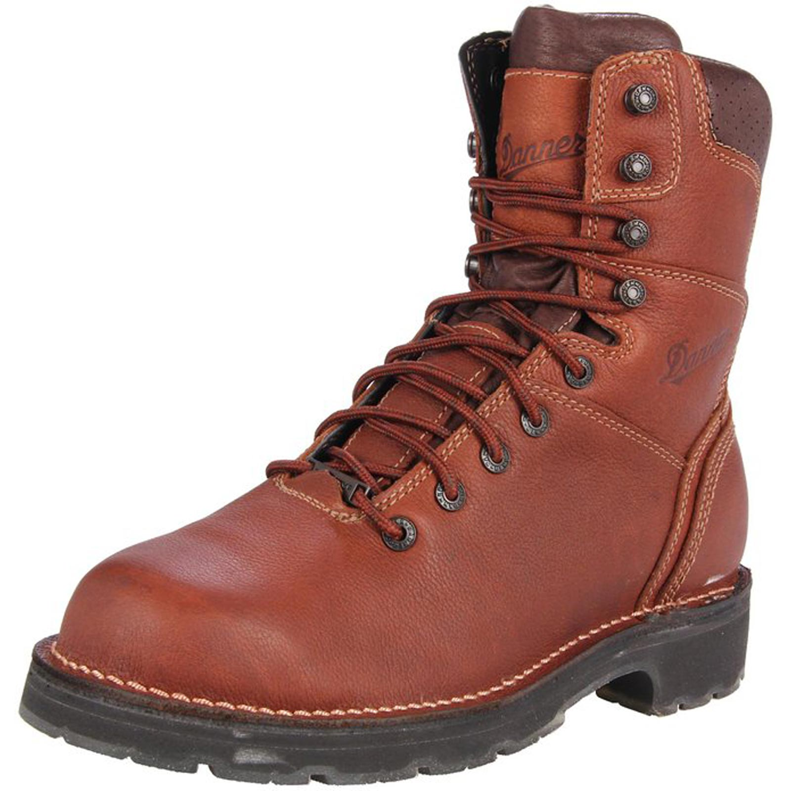 79bf1c48205 Danner Mens Workman GTX Brown Work Boots 16007