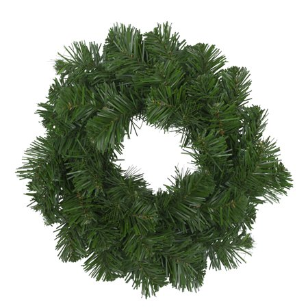 Deluxe Windsor Pine Artificial Christmas Wreath - 12-Inch, Unlit Christmas Wreath Pattern