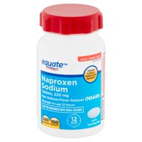 Equate Naproxen Sodium Tablets, 220 mg, 100 Count